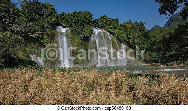 bando, cascata, gioc/detian - csp56480163