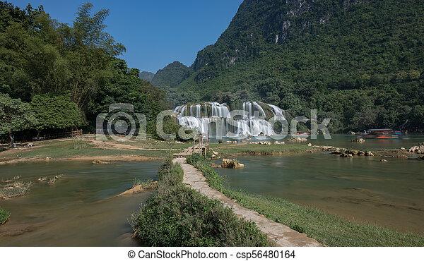 bando, cascata, gioc/detian - csp56480164