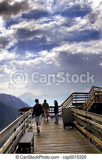 Banff lookout - csp0015320