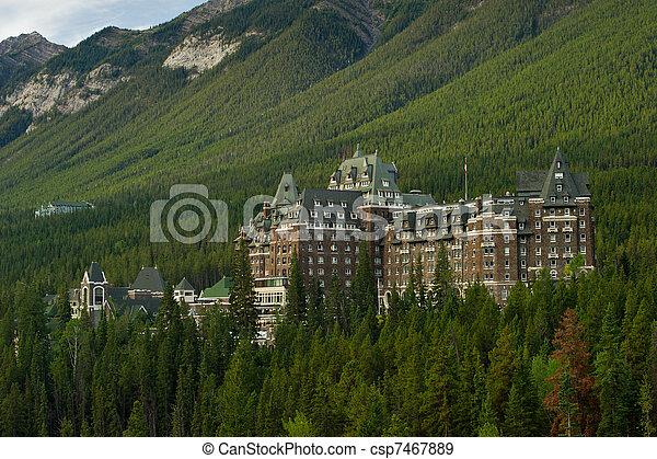 Banff Springs Hotel - csp7467889
