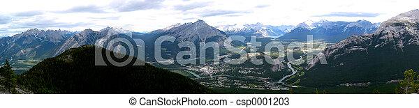 Banff Townsite - csp0001203