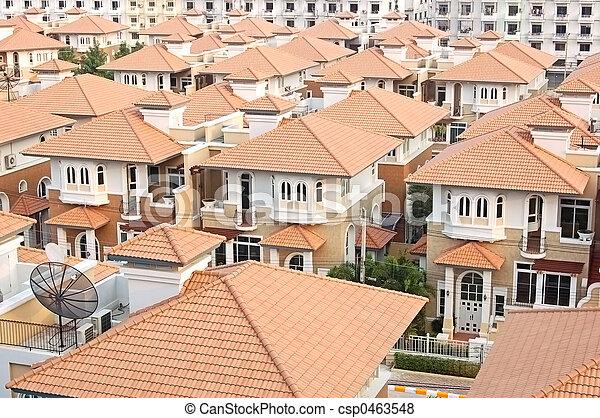 Bangkok estate - csp0463548