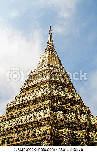 bangkok, grande palazzo, tailandia - csp15349376
