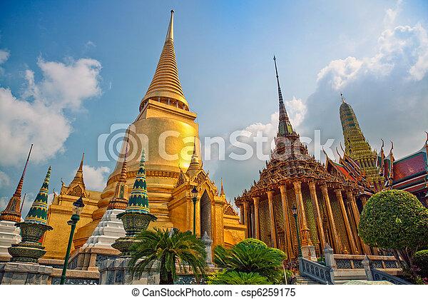Bangkok   Temple - csp6259175