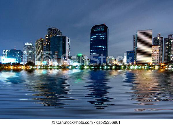 bangkok, ville - csp25356961