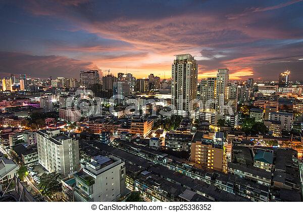 bangkok, ville - csp25336352