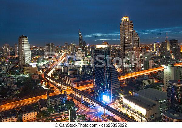 bangkok, ville - csp25335022