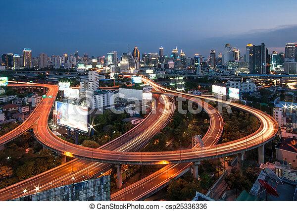 bangkok, ville - csp25336336