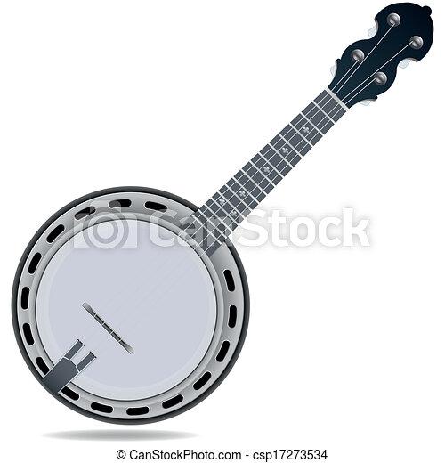 banjo fiddle instrument. grey fiddle insrtument banjo vectors