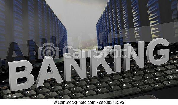 bankügylet - csp38312595