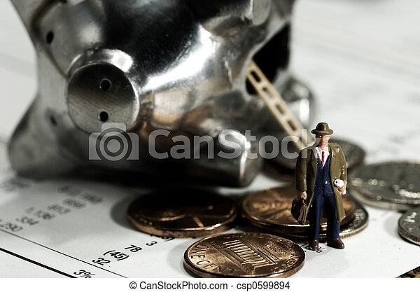 bankügylet - csp0599894