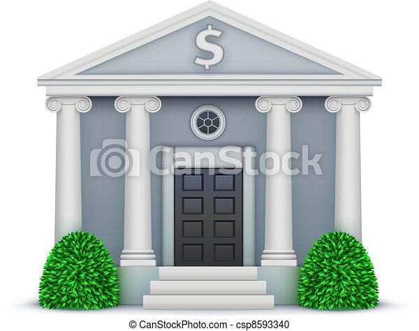 bank icon - csp8593340