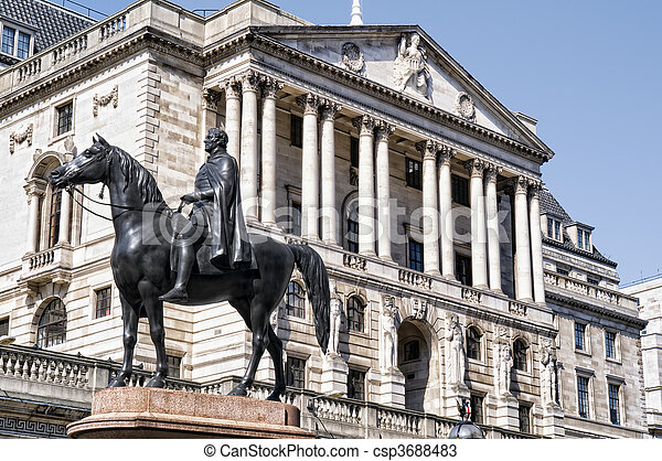 Bank Of England. (City of London) - csp3688483