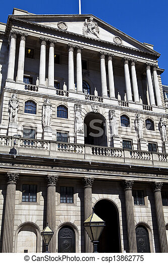 Bank of England in London - csp13862775