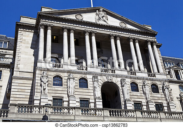 Bank of England in London - csp13862783