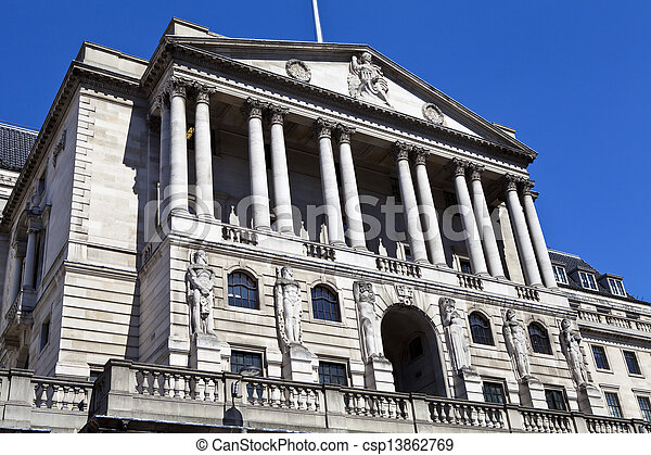 Bank of England in London - csp13862769
