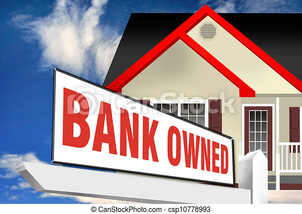 Bank Owned home. - csp10778993