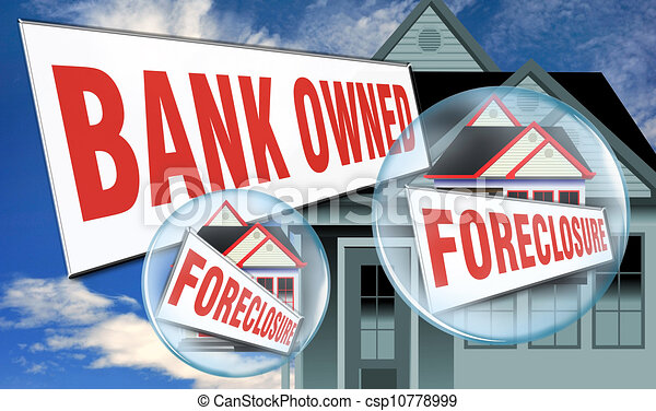 Bank Owned Home. - csp10778999