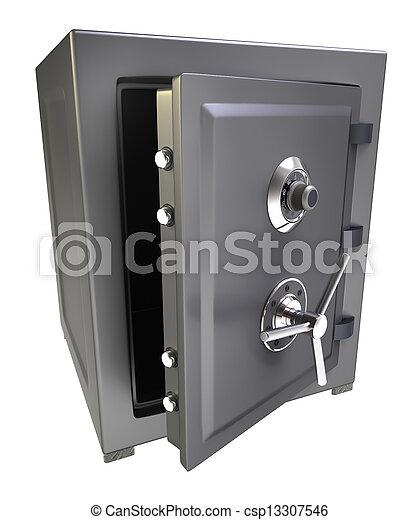 Bank safe - csp13307546