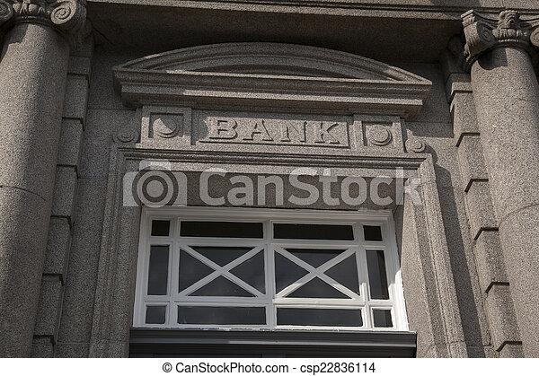 Bank Sign - csp22836114