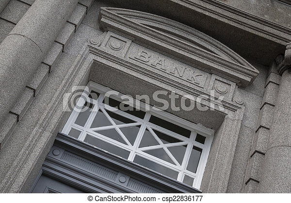 Bank Sign - csp22836177