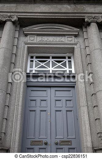 Bank Sign - csp22836151