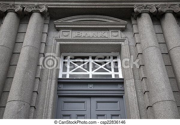 Bank Sign - csp22836146