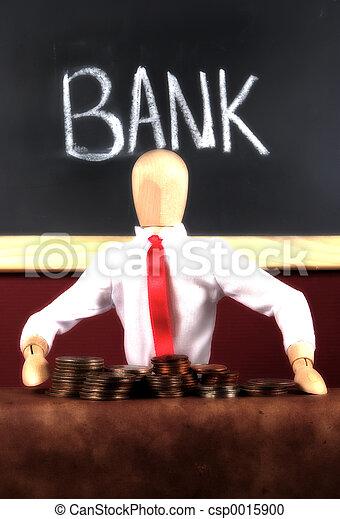 Bank Teller - csp0015900