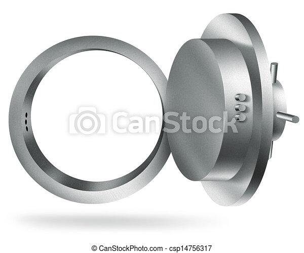 bank vault - csp14756317