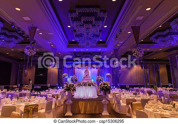 Bankett-Hochzeit - csp15306295