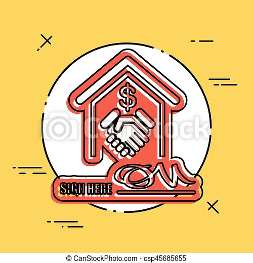 Banking Agreement Clipart Vector Search Illustration Drawings And