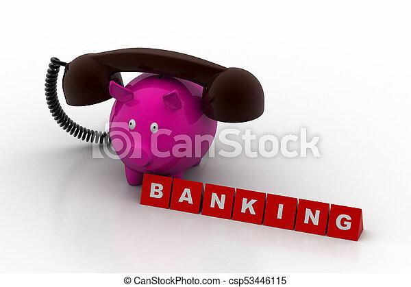 Banking concept - csp53446115