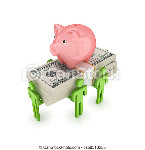 Banking concept. - csp8513255