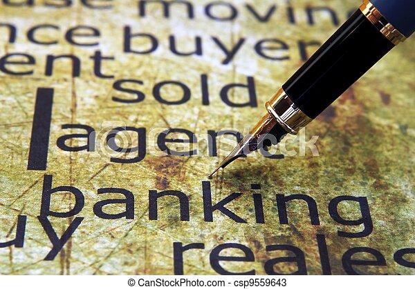Banking concept - csp9559643
