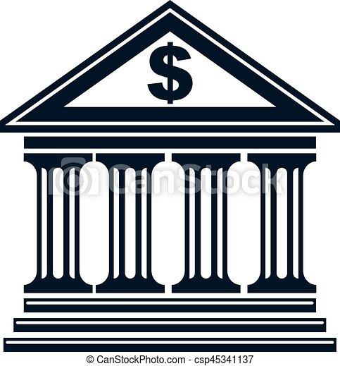banking conceptual logo unique vector symbol banking vectors rh canstockphoto com banking clipart free school banking clipart