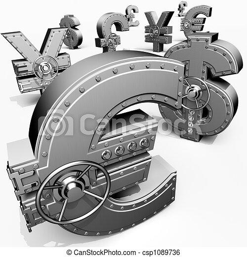 Banking safes - csp1089736