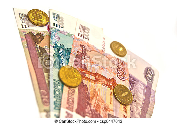 Banknotes and coins - csp8447043