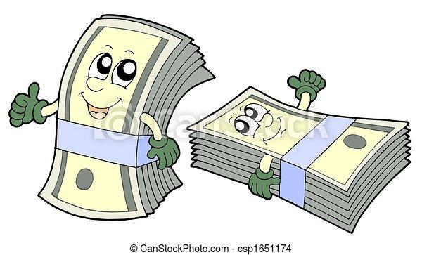 bankpapier, schattig, bank - csp1651174