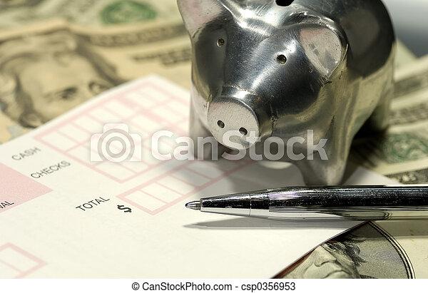 bankrörelse - csp0356953