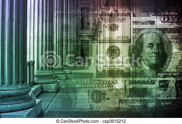 bankwesen online - csp3615212