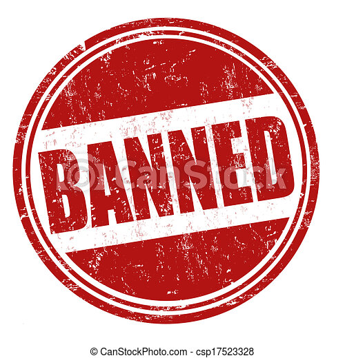 Banned stamp - csp17523328