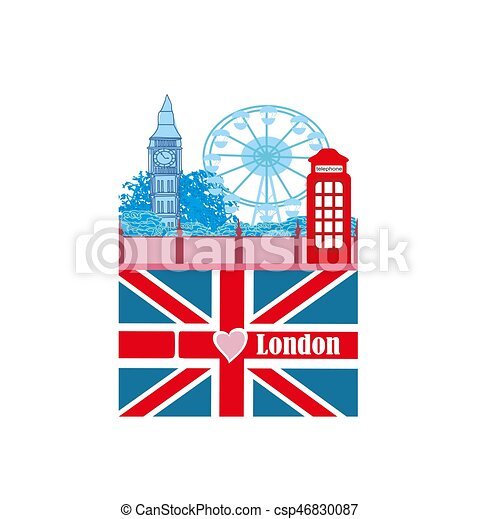 banner - i love London - csp46830087