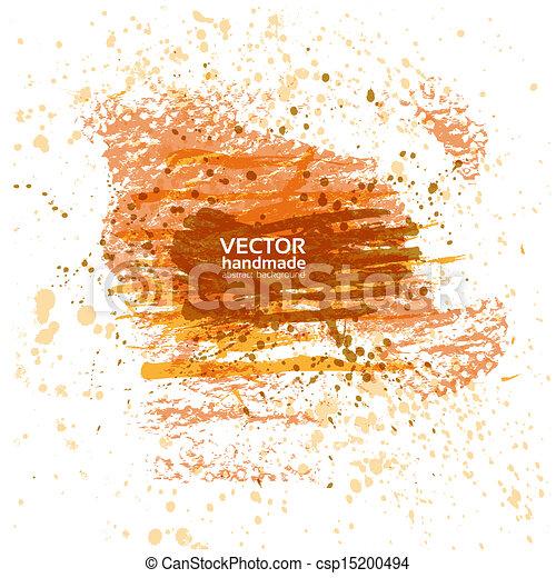 Banner of spray paint - csp15200494