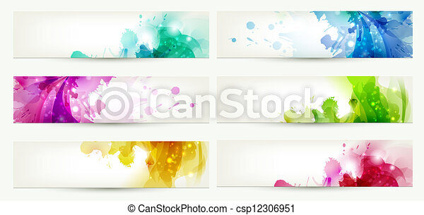 Sechs Banner - csp12306951