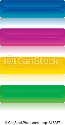 banners/, ボタン, イメージ, ベクトル - csp1616387