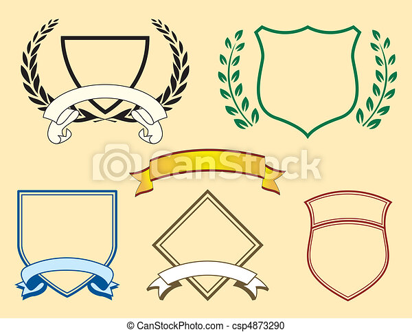 Banners and Logo Elements - csp4873290