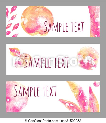 banners - csp31592982