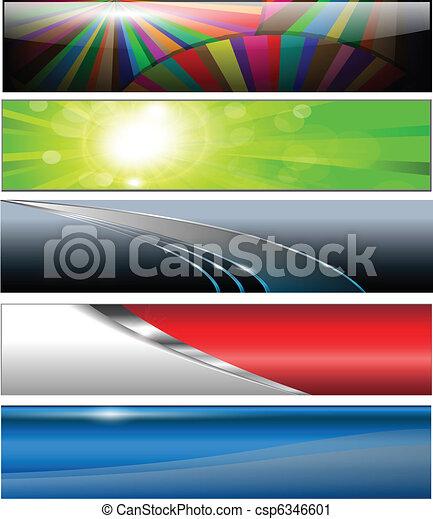 Banners, headers - csp6346601