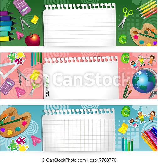 Banners school - csp17768770
