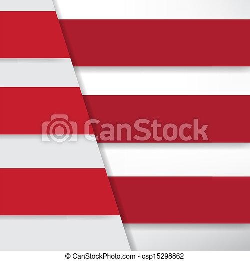 bannière, conception, gabarit - csp15298862